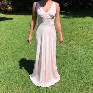 J. crew 'Sofia' silk tricotine wedding/event gown.